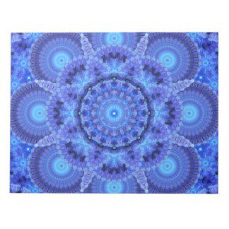 Azure Harmony Mandala Notepads