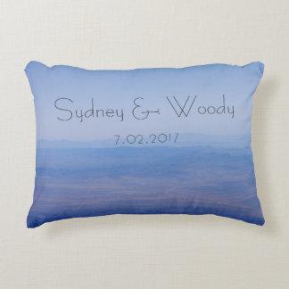 Azure Landscape Decorative Cushion