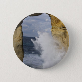 Azure Window 6 Cm Round Badge
