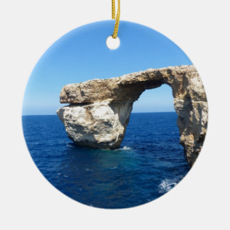 Azure Window Ceramic Ornament