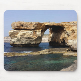 Azure Window, Gozo, Malta Mouse Pad