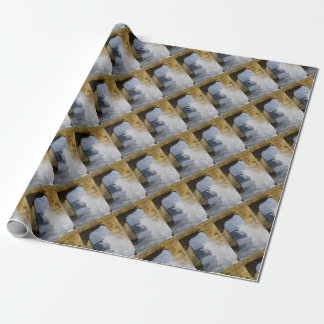Azure Window Wrapping Paper