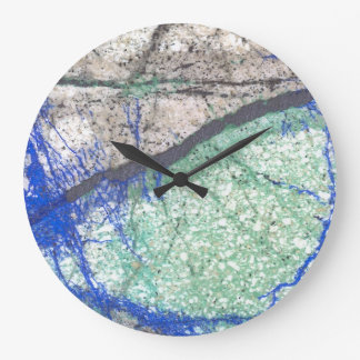 Azurite Malachite Wall Clock