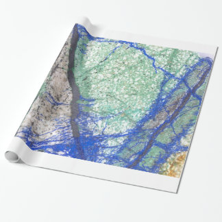 Azurite Malachite Wrapping Paper