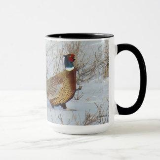 B0022 Ring-necked Pheasant mug