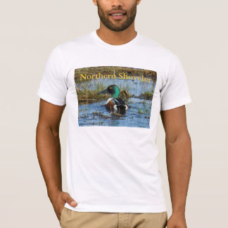 B0025 Northern Shoveler Drake T-Shirt