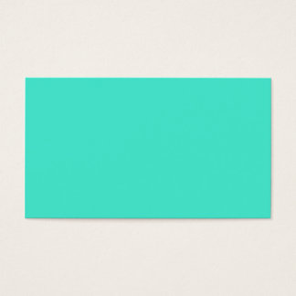 B10 Gem Of A Turquoise! Colour Business Card