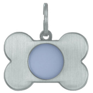 B16 Quietly Cool Blue Color Pet Name Tag
