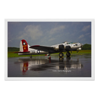 B17 Bomber Posters