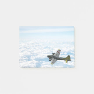 B17 Flying Fortress WWII Bomber Airplane Post-it Notes