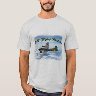B17 Flying Fortress WWII Bomber Airplane T-Shirt
