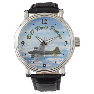 B17 Flying Fortress WWII Bomber Airplane Watch