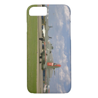 B17 On Ground, Right Rear_WWII Planes iPhone 7 Case