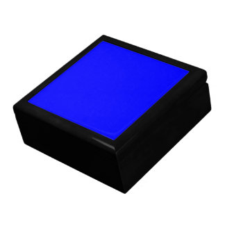 B21 Bouncy Bright Blue Color Gift Box