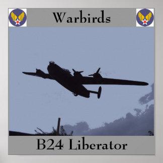 B24 Liberator Poster