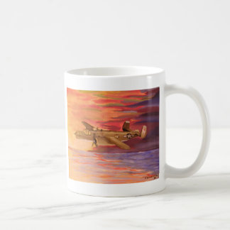 B25 bomber mug