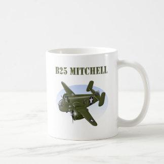 B25 Mitchell Bomber Green Plane Coffee Mug