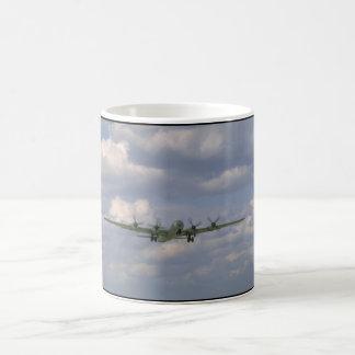 B29 Flying. (plane_WWII Planes Coffee Mug