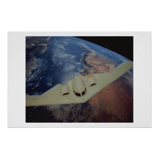 B2 and earth poster