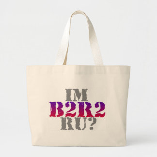 B2R2 Product Line Large Tote Bag