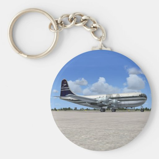 B377 Stratocruiser Airliner Key Chains