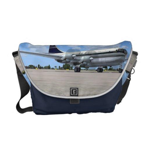 B377 Stratocruiser Airliner Messenger Bag