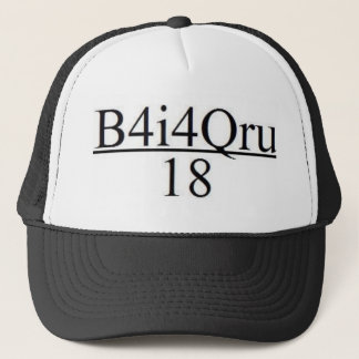 B4I4QRU Over 18 Trucker Hat