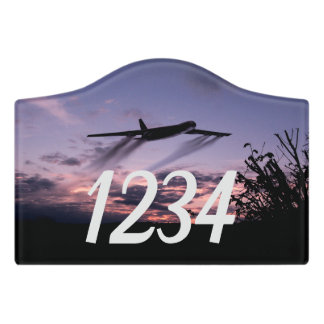 B52 Stratofortress Bomber Aeroplane Personalized Door Sign
