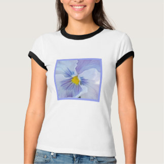 b5 Palest Blue Pansy T-Shirt