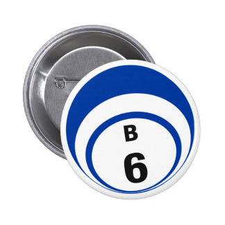 B6 Bingo Ball button