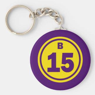 B-15 BINGO BALL KEY CHAIN