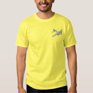 B-17 Bomber Embroidered T-Shirt
