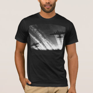 B-17 Flying Fortress 100% Cotton Black T-Shirt