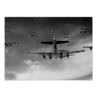 B-17 Flying Fortresses Poster