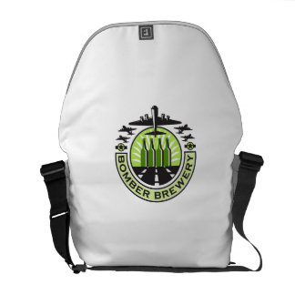 B-17 Heavy Bomber Beer Bottle Brewery Retro Commuter Bag