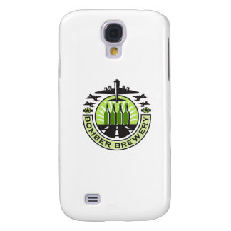 B-17 Heavy Bomber Beer Bottle Brewery Retro Samsung Galaxy S4 Covers