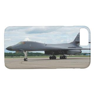 B-1B Lancer Bomber on Ground iPhone 8/7 Case