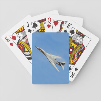 B-1B Lancer Bomber Wings Swept Playing Cards
