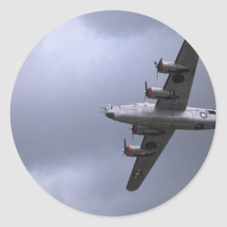B-24 Liberator Round Sticker
