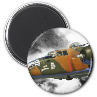 B-25 Bomber 'axis nitemare' Magnet