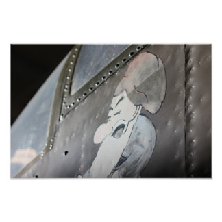 B-25 'Grumpy' Noseart Print