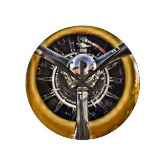 B-25 Prop Clock