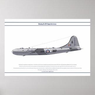 B-29 90 Squadron Poster