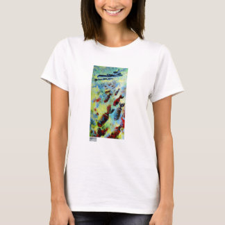 B-29, Fine Art T-Shirts for Women