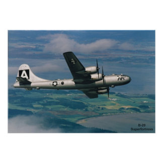 B-29 Superfortress Poster