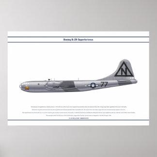 B-29 USA Bockscar Poster