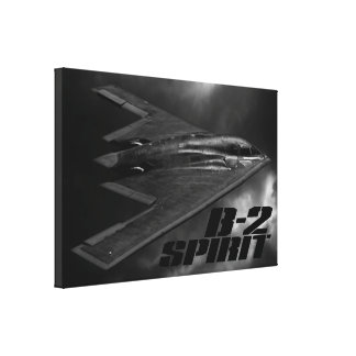 B-2 Spirit Gallery Wrapped Canvas