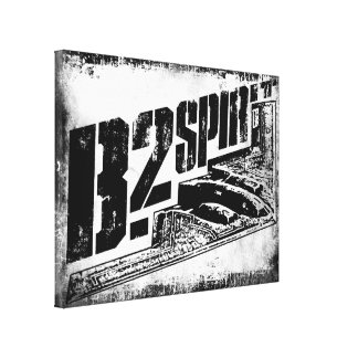 B-2 Spirit Wrapped Canvas Gallery Wrap Canvas