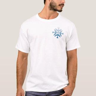 B-52 Aircraft Snowflake T-Shirt