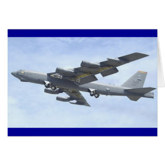 B-52 BOMBER CARD